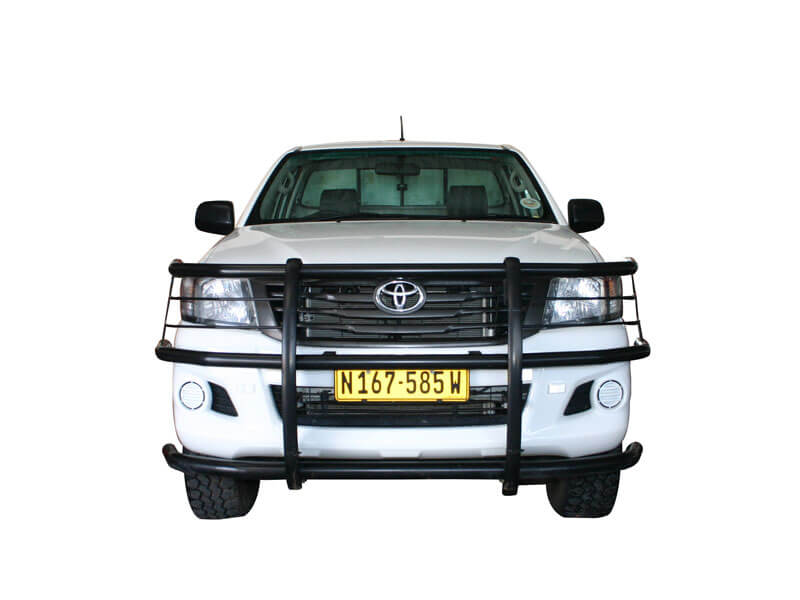 Toyota Hilux 4x4 Allrad Single Cab - Frontansicht