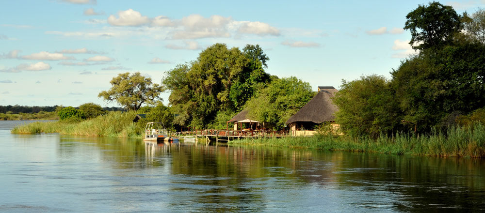 Afrika-Lodge am Kwando Fluss - Unterwegs in der Sambesi Region