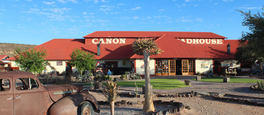 Canyon Roadhouse - die perfekte Übernachtung am Fish River Canyon